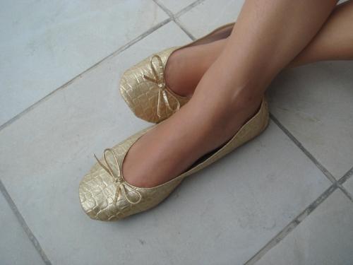 ballerine footzyrolls flats