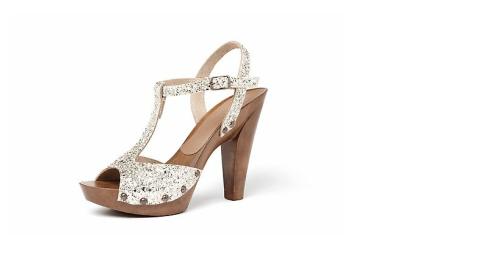 zoccoli sandali glitter bagatt