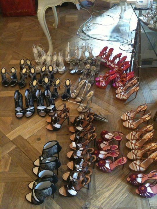 René Caovilla - La collezione di Scarpe per la Primavera-Estate 2012