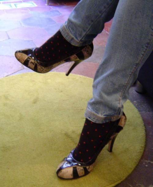 scarpe beyond skin pump