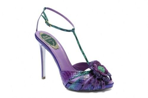 caovilla SS 2012 estate pitone snakeskin heels