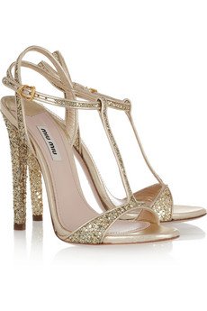 sandali glitter miumiu