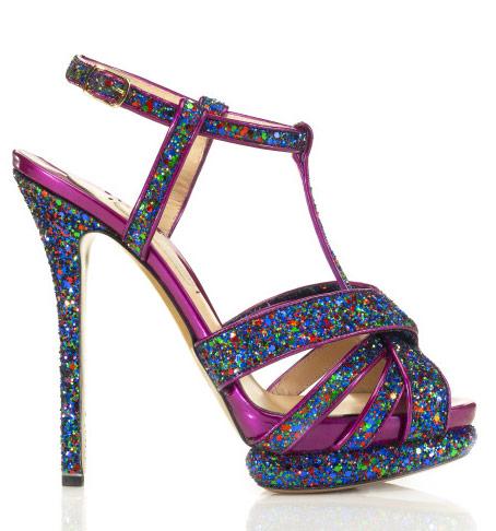 sandali glitter tacco a spillo kirkwood 2012 prefall