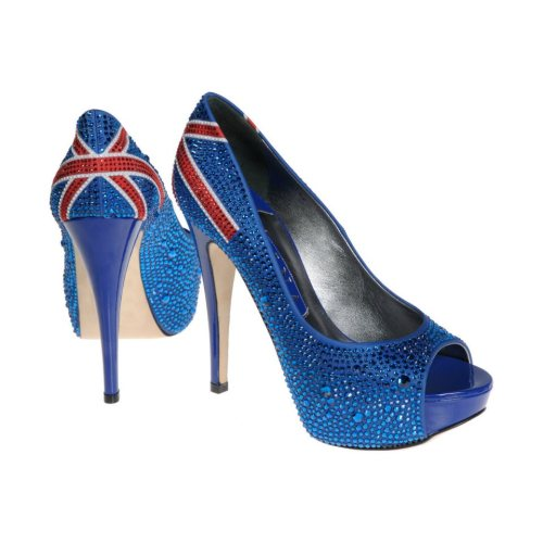 sandali gina edizione limitata bandiera inglese